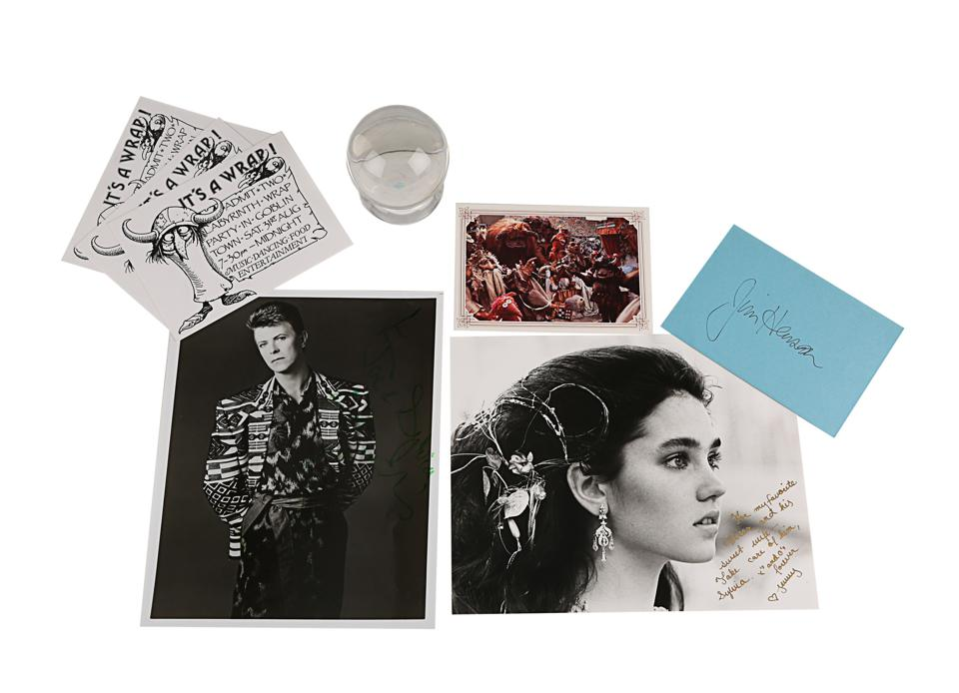 Prop Store, auction, Labyrinth, David Bowie, Jim Henson, Jareth, memorabilia, Disney,