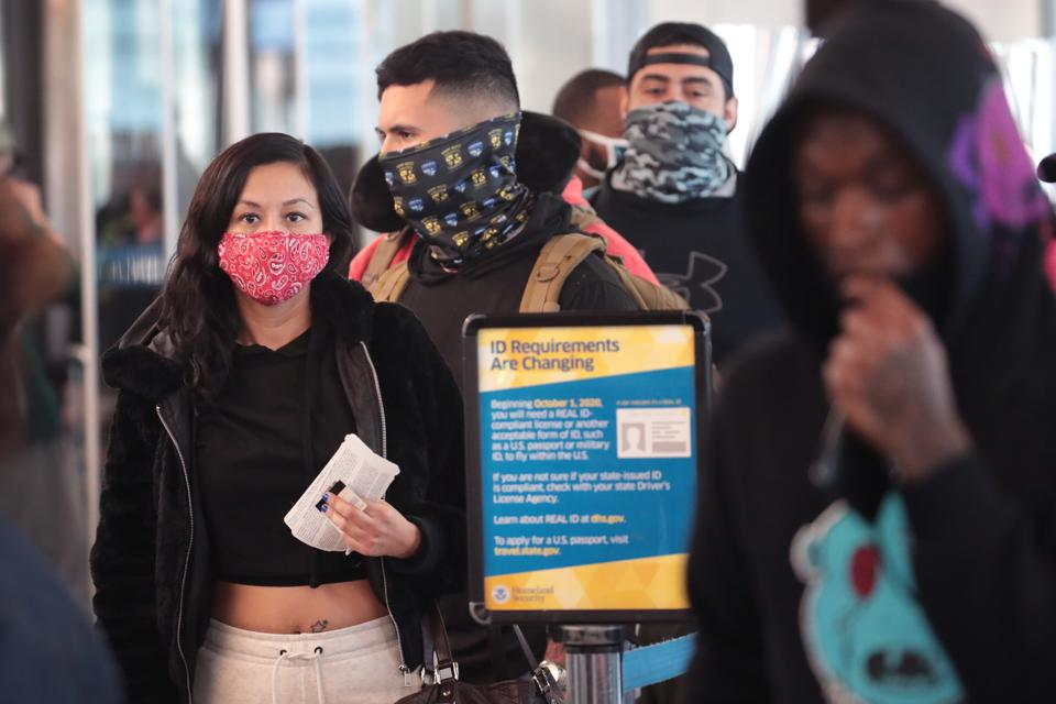 CDC face masks public transportation Covid-19 coronavirus