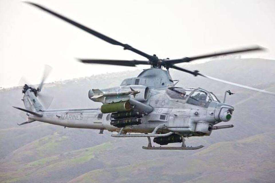 The AH-1Z Viper still bears a strong resemblance to the original AH-1 Cobra
