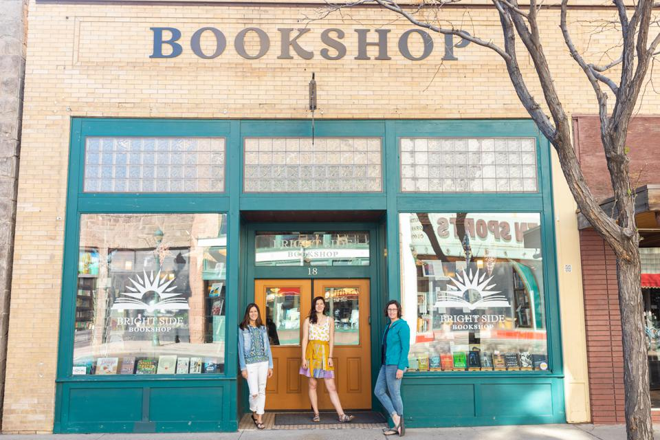 bright side bookshop arizona flagstaff local independent bookstore indie