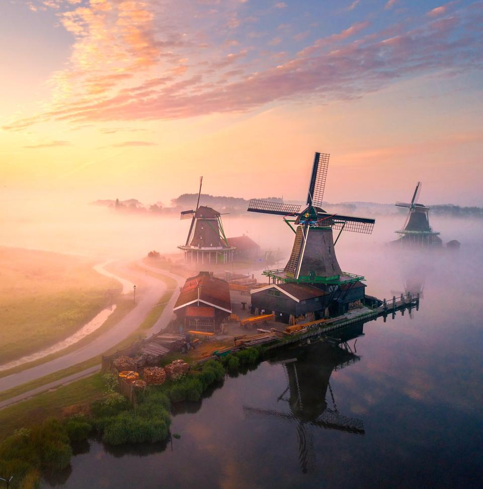 The World We Want, global photo contest  Old traditional windmills in Netherlands