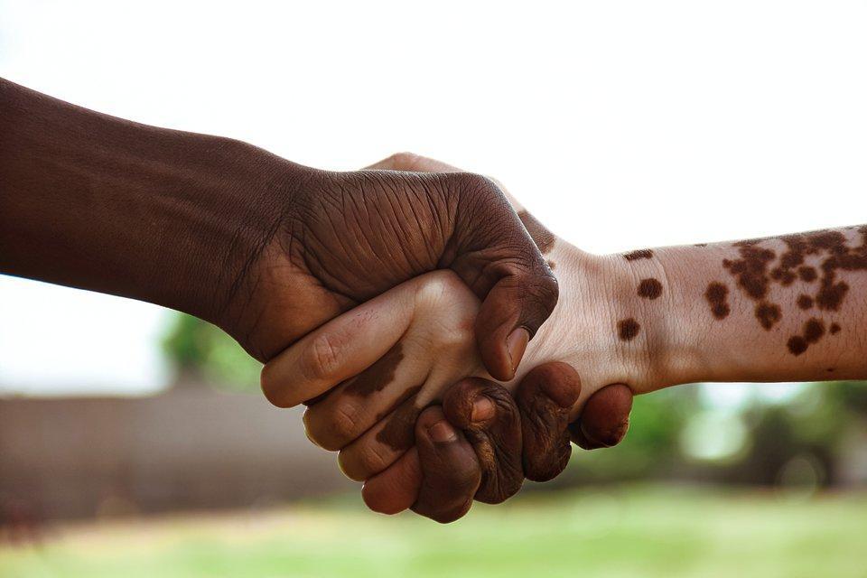The World We Want, global photo contest: hand shake