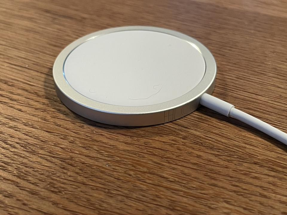 Apple MagSafe charger.