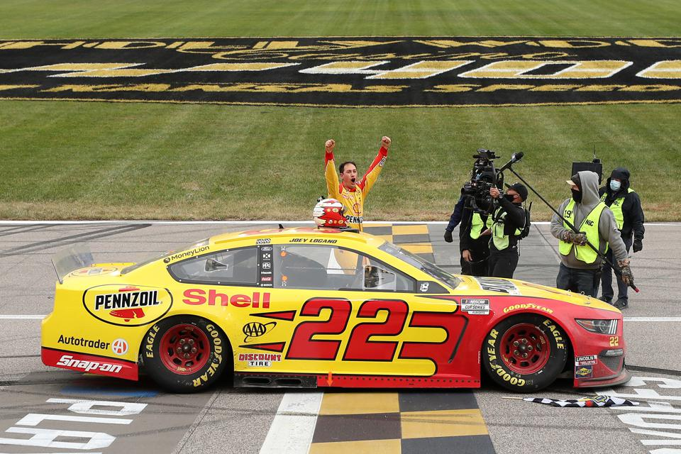 The NASCAR Playoffs conclude in November.