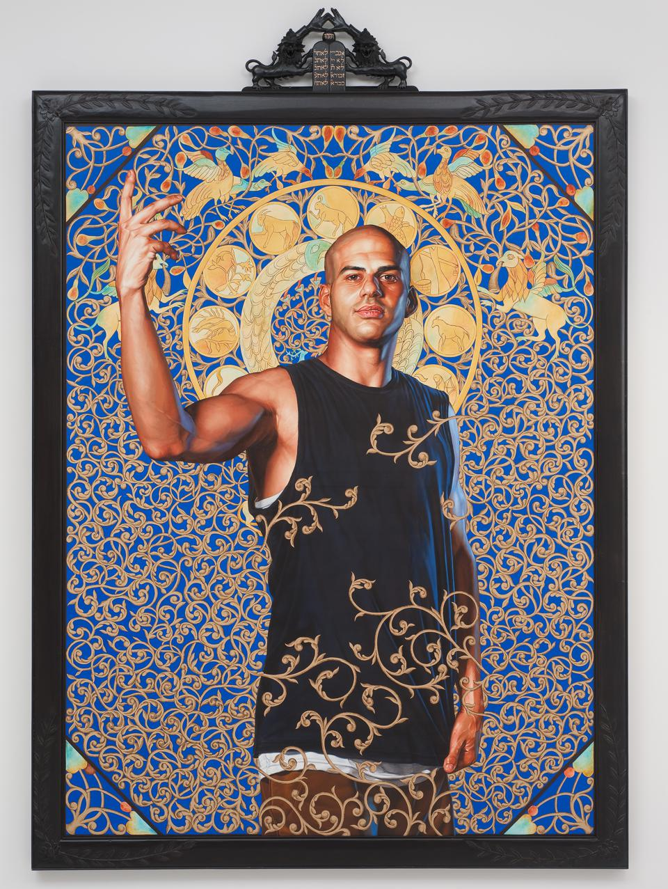 Kehinde Wiley, 'Leviathan Zodiac (The World Stage: Israel),' 2011.
