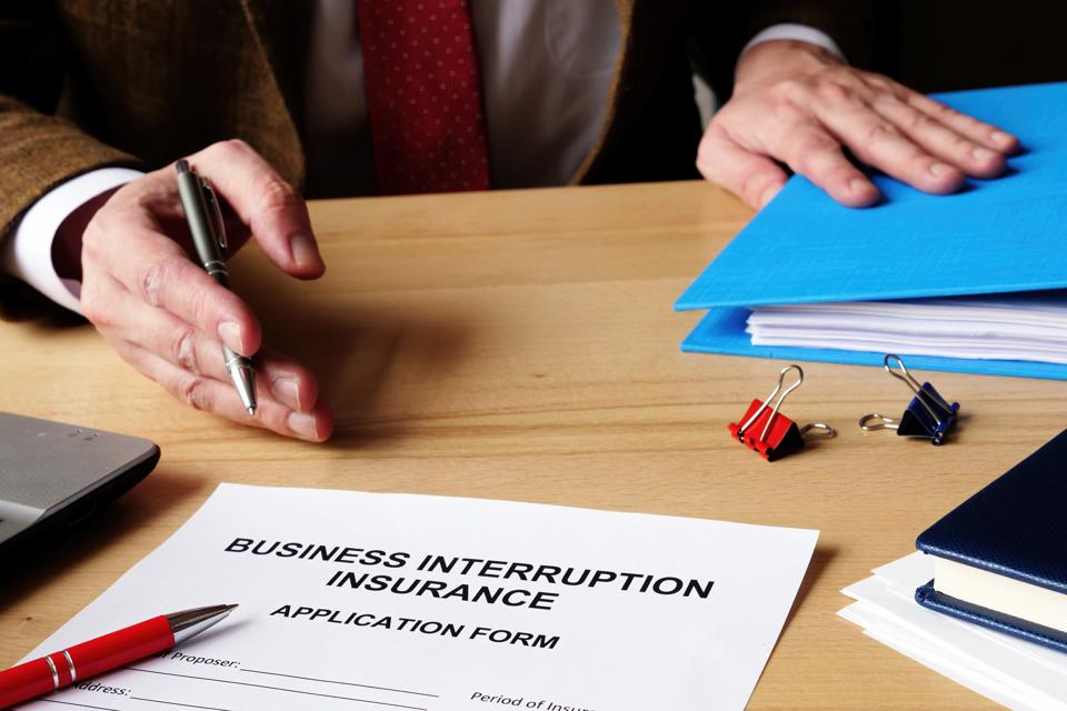 """Contrary to the name """"business interruption insurance,"""""""