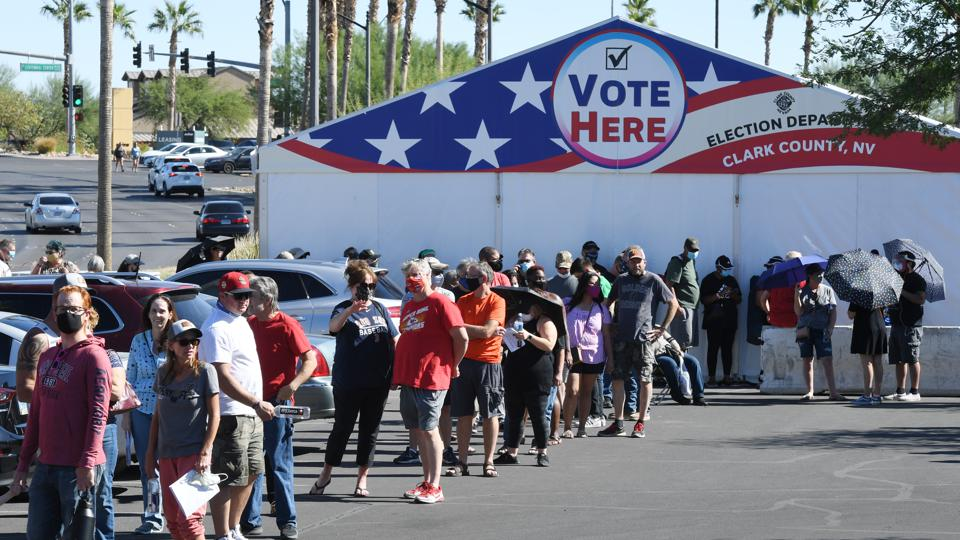 Early Voting Surpasses 25% Of Total 2016 Turnout As Surge Continues