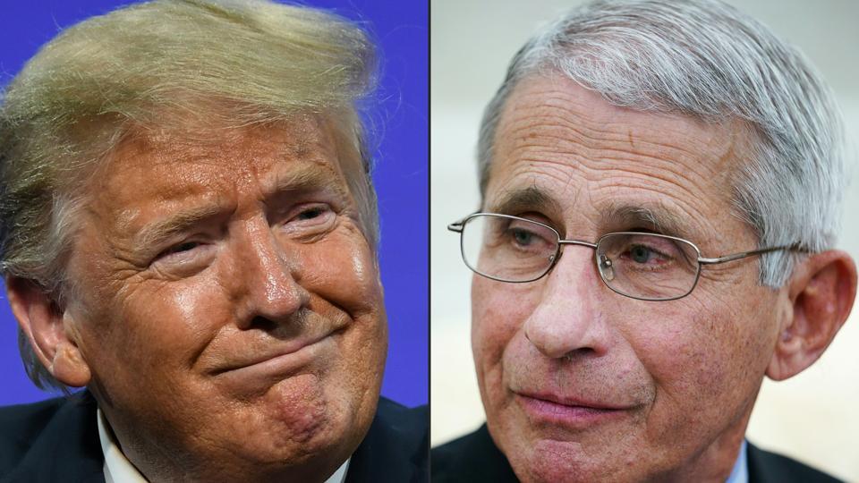 COMBO-US-POLITICS-TRUMP-HEALTH-VIRUS-FAUCI
