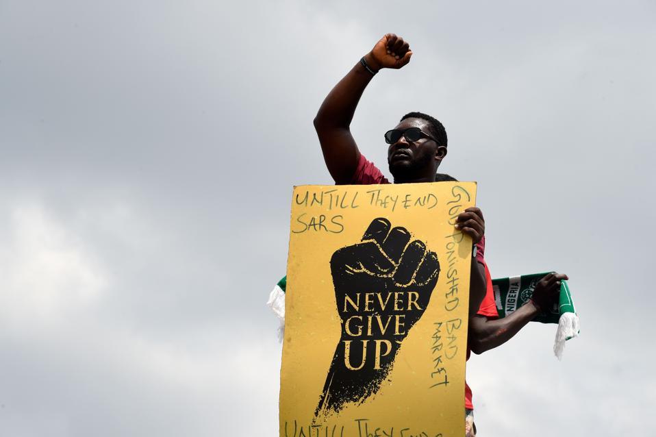 NIGERIA-CRIME-POLICE-DEMO
