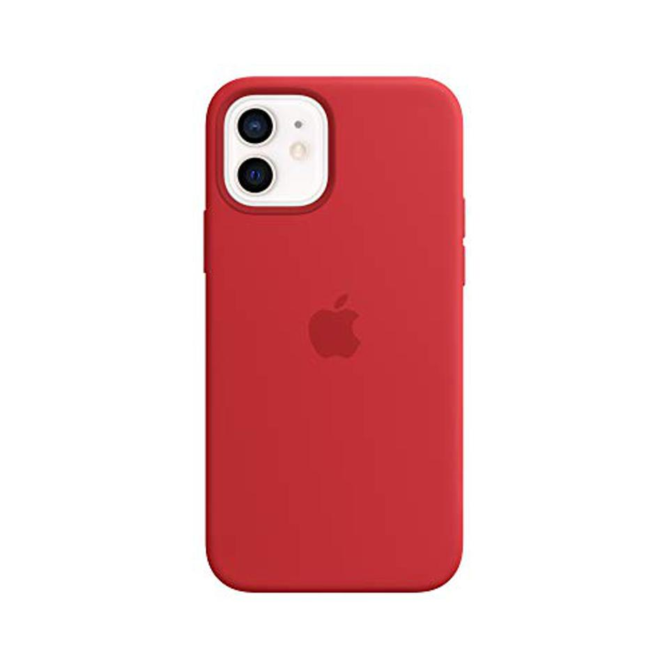 Apple Silicone Case with MagSafe for iphone 12 (Product)Red