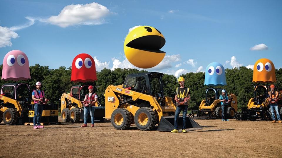 Pac-Man Caterpillar