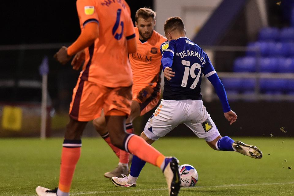 Oldham Athletic v Carlisle United - Sky Bet League 2