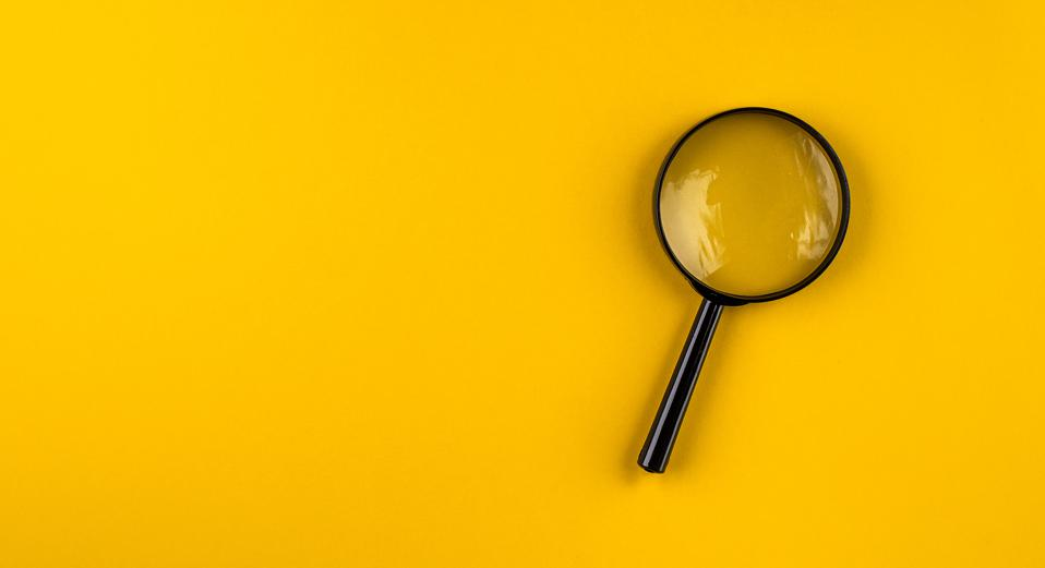 Magnifying glass background