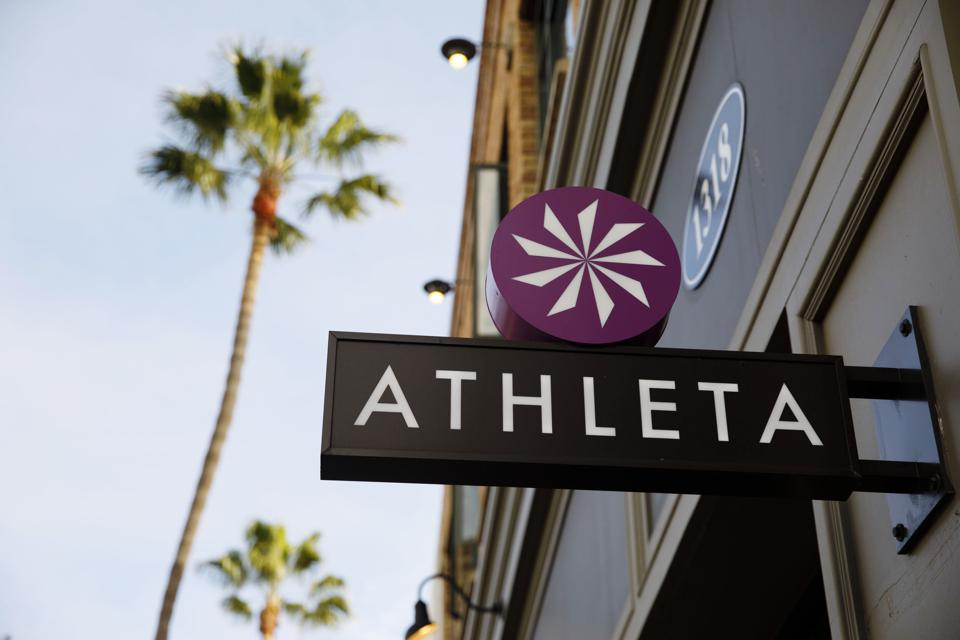 Athleta has been a bright spot for its parent company Gap Inc. during the pandemic.