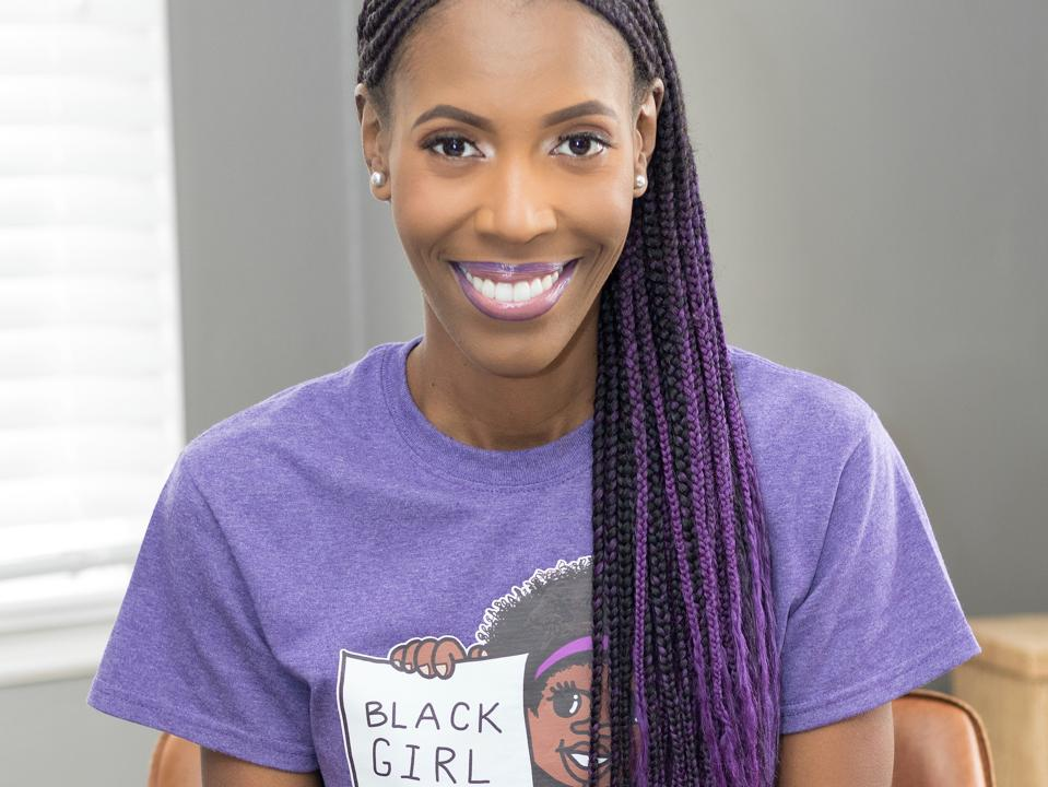 Brittany Rhodes, Founder of Black Girl MATHgic