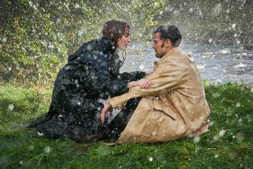 Emily Blunt and Jamie Dornan in 'Wild Mountain Thyme.'