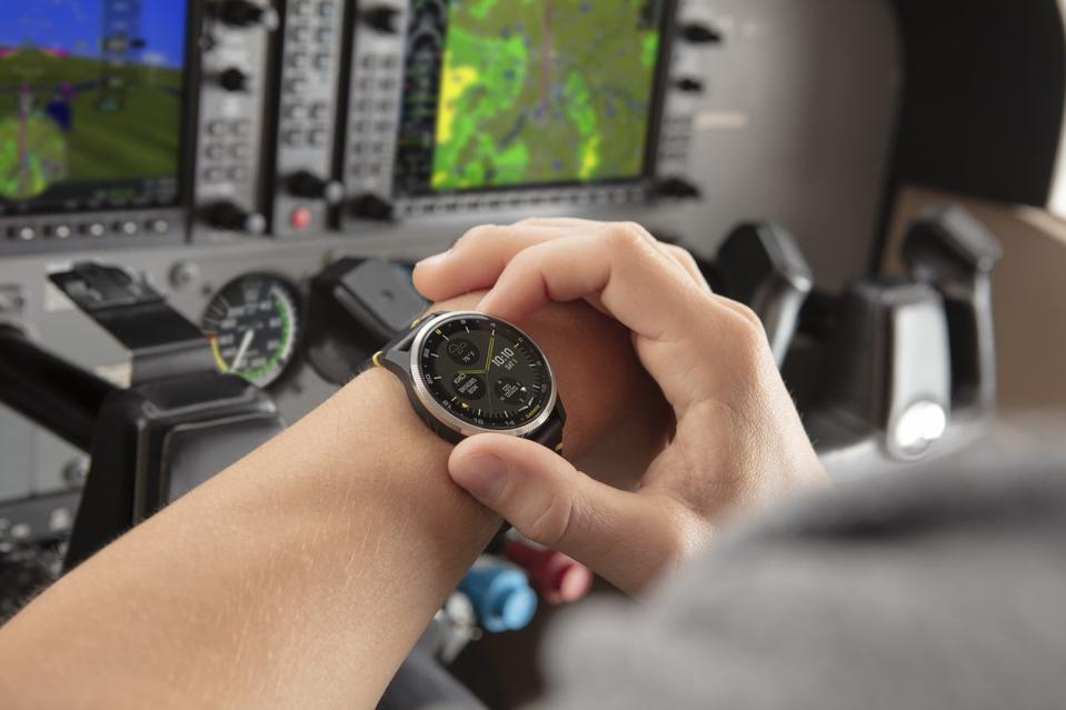 Garmin's D2 Air is the newest in its series of aviation smart watches, priced at $499.