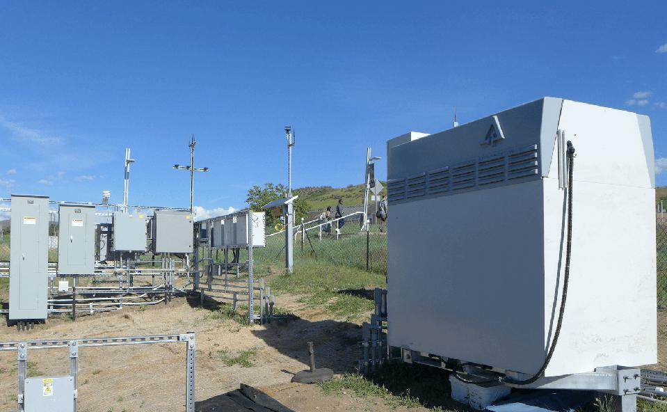 An Invinity Energy Systems battery being tested at NREL in 2019.