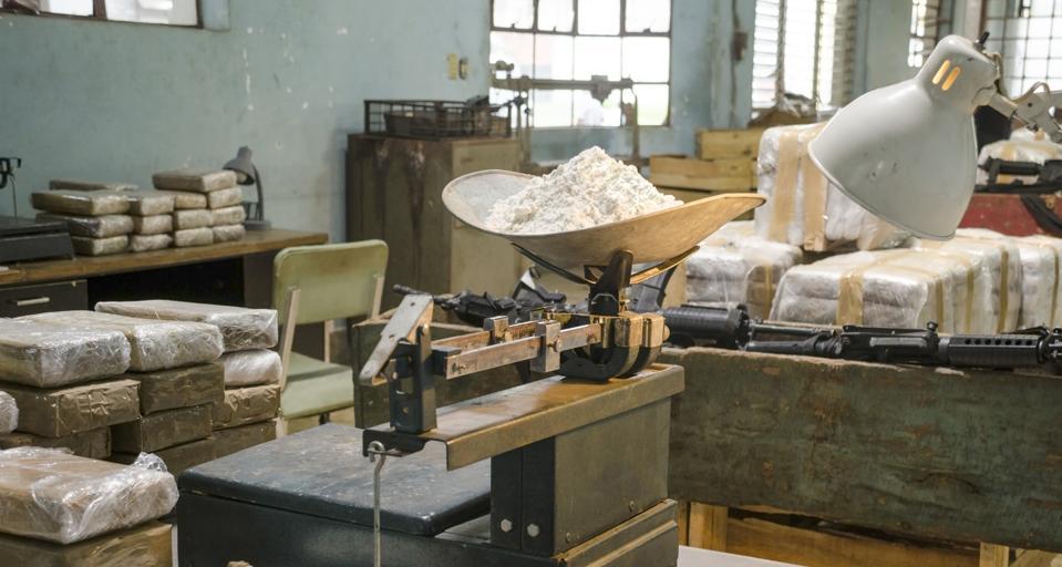 Cocaine warehouse