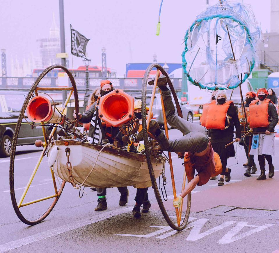 19 Oct 2020: Ocean Rebellion's peaceful and artistic performances have raised the awareness of ocean issues that have gone unaddressed for too long.