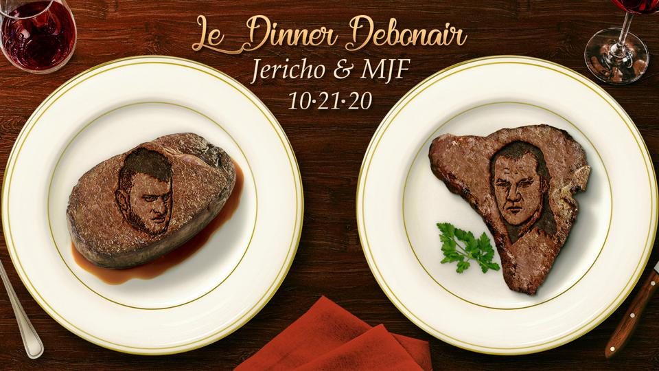 Chris Jericho and MJF enjoyed a steak dinner on AEW Dynamite.