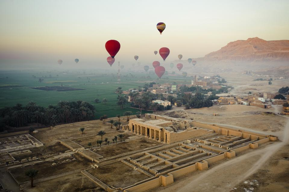 Hot air ballooning egypt where to go 2021