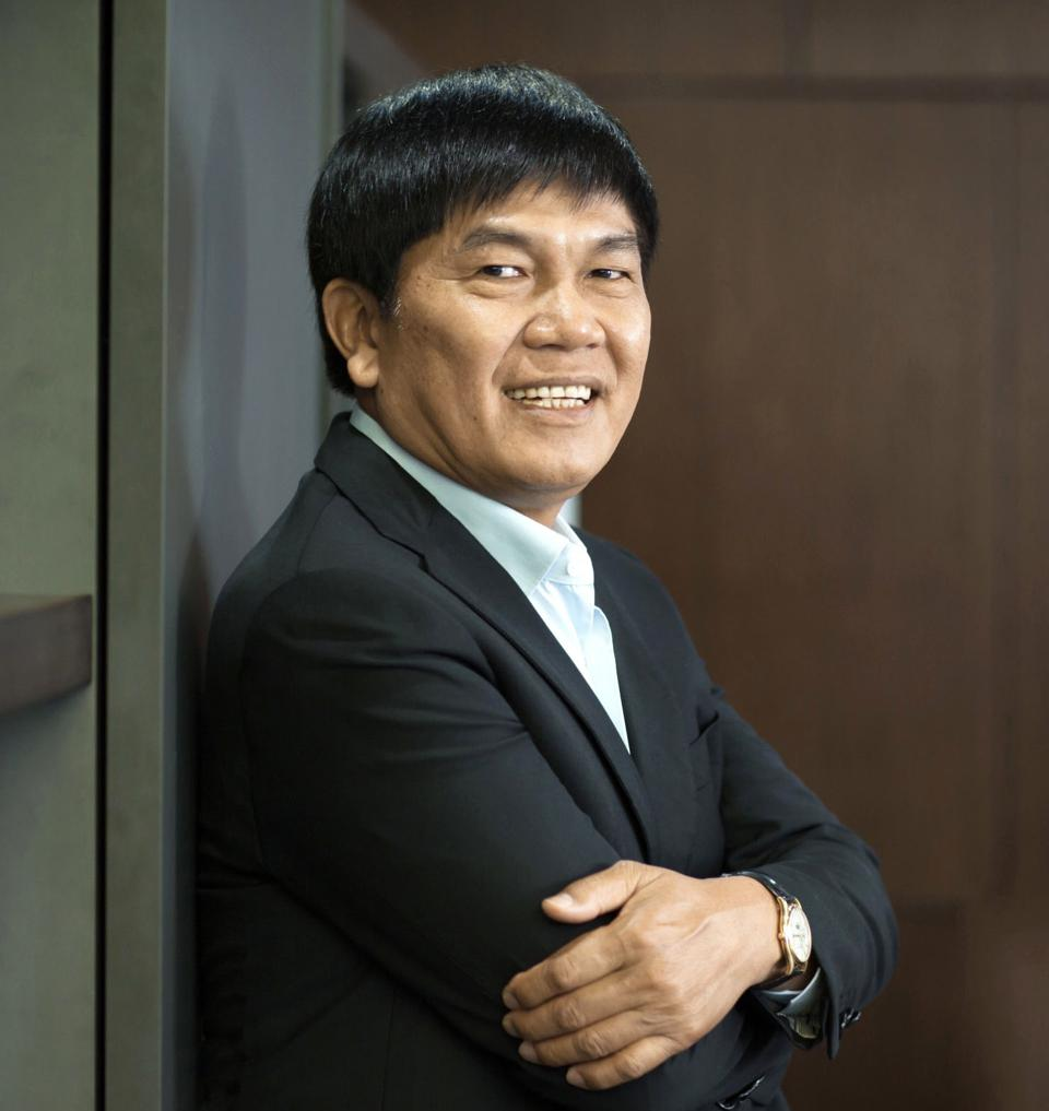 Tran Dinh Long, the cofounder and chairman of Hoa Phat Corporation.