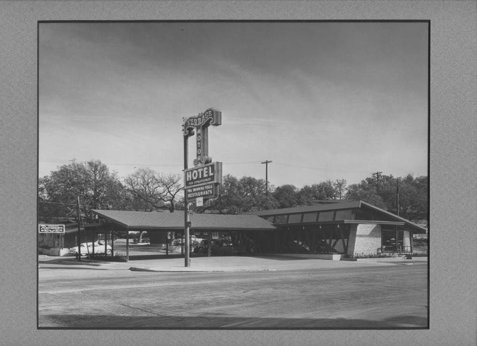 The Terrace Motor Hotel in the Fifties.
