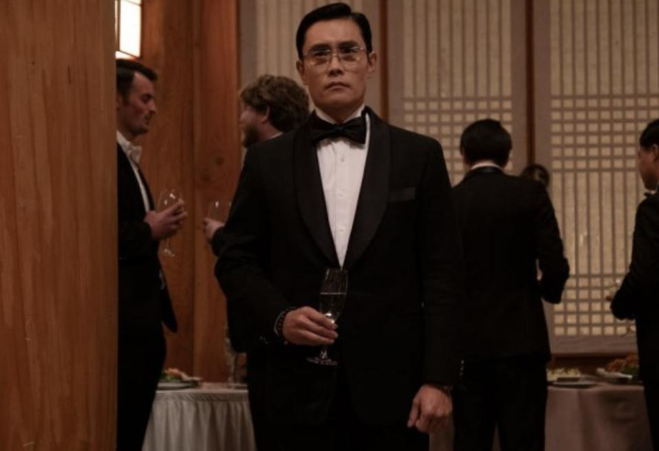 Lee Byung-hun plays a Korean Central Intelligence Agency spy in 'The Man Standing Next.'