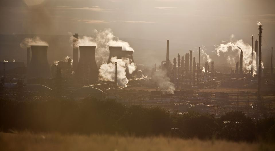 Ineos Group Holdings Plc.'s Grangemouth Refinery