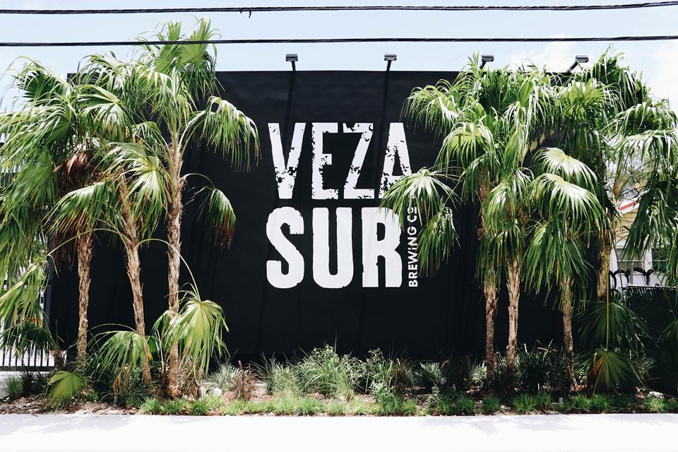 Veza Sur Brewery in Wynwood, Miami