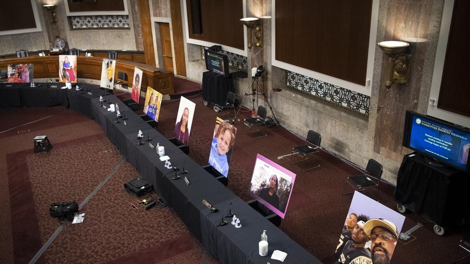 Senate Judiciary Committee Votes On Barrett Supreme Court Nomination