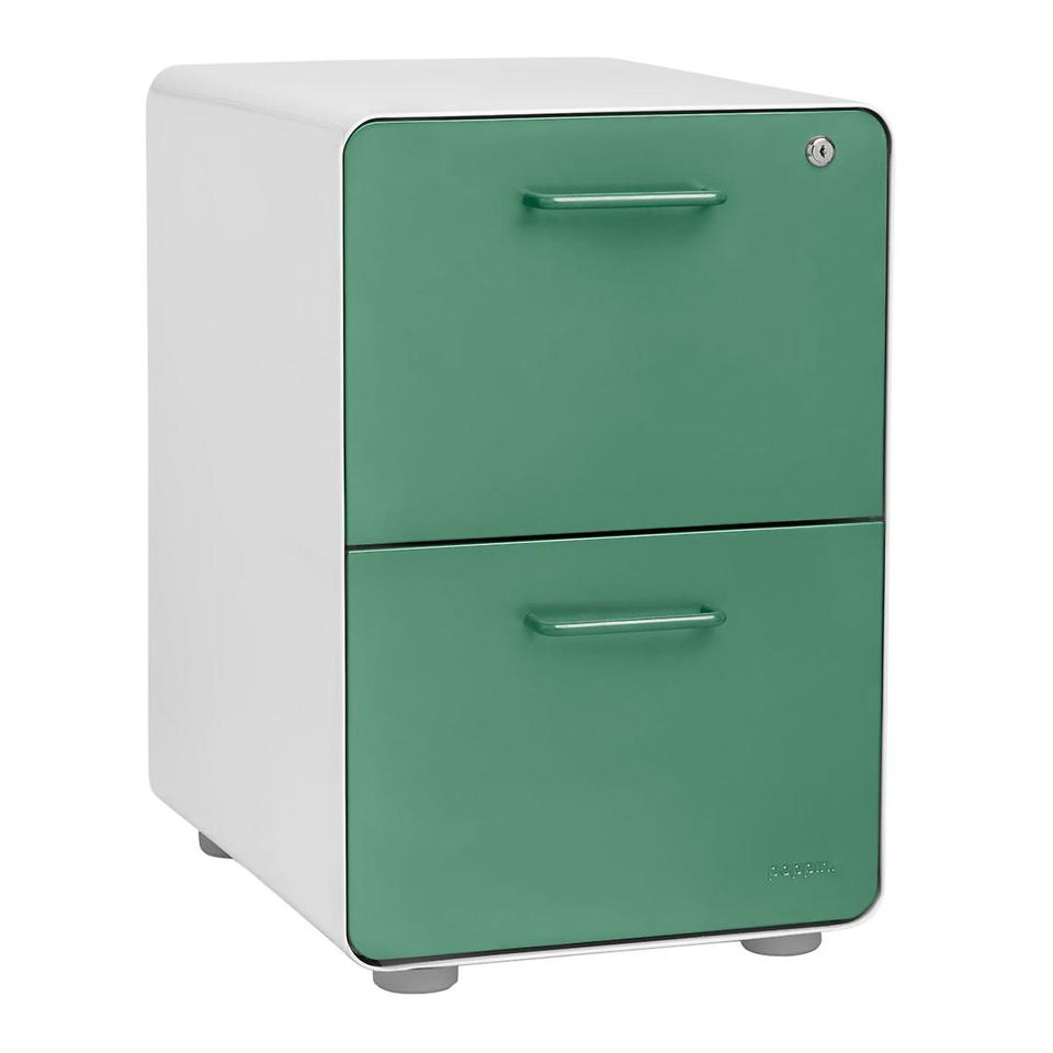 Poppin 2-Drawer File Cabinet