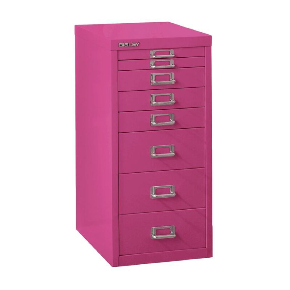 Bisley 8-Drawer Filing Cabinet