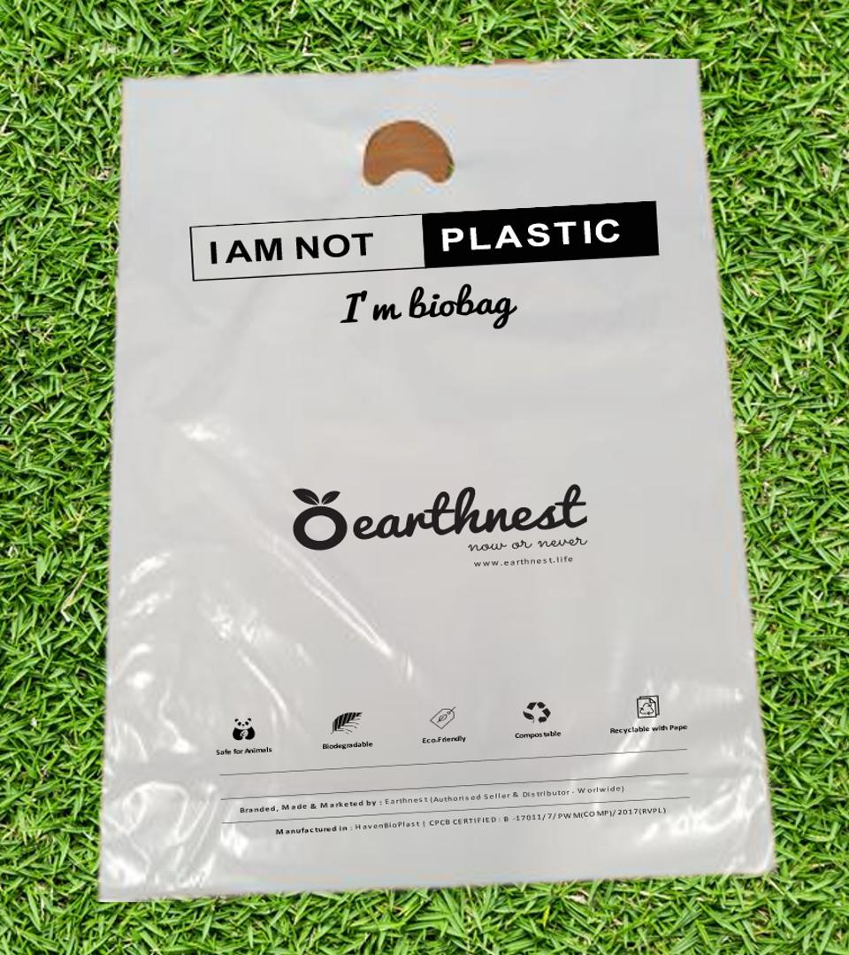 Earthnest's fully biodegradable biobags.