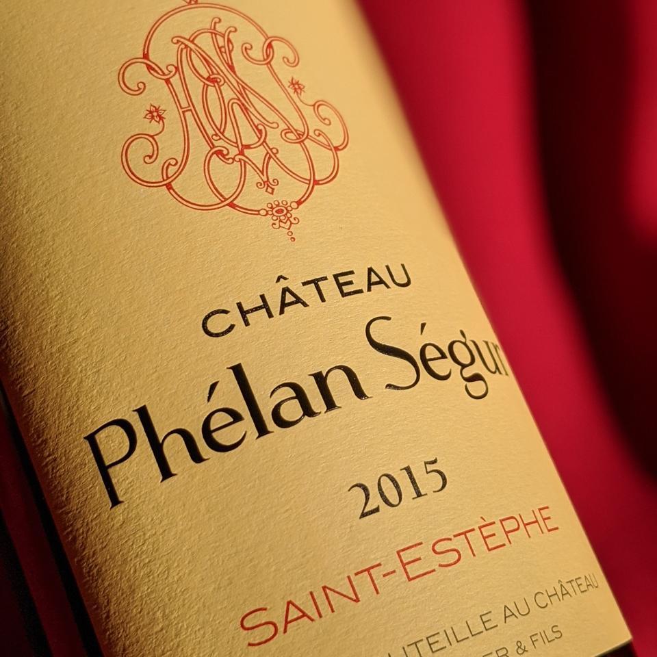 2015 Château Phélan Ségur - Bordeaux Wine, France