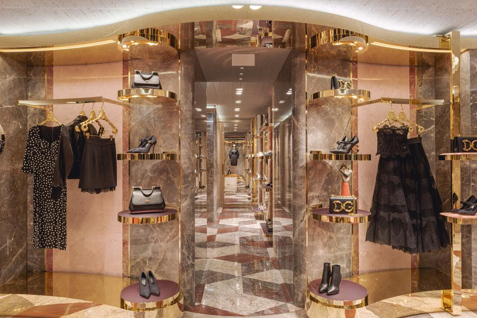 dolce and gabbana paris store