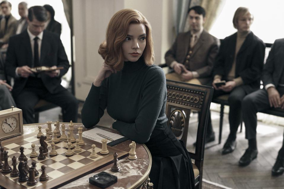 Anya Taylor-Joy shines in the new Netflix limited series 'The Queen's Gambit' about professional chess.