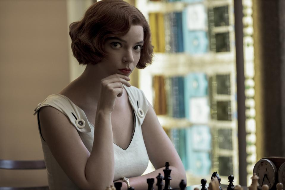The seven-part limited series 'The Queen's Gambit' premieres on Netflix on October 23.