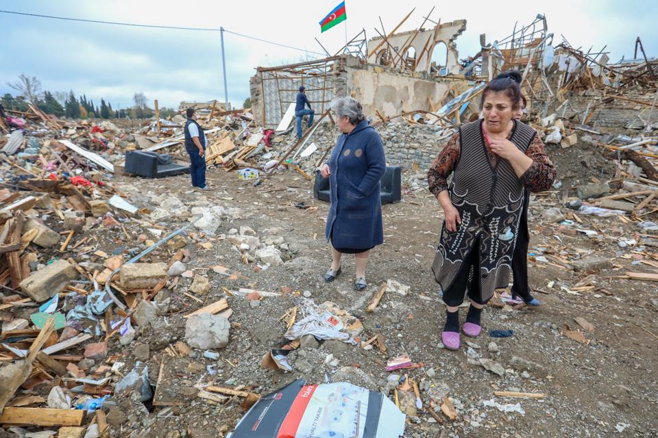 Armenia And Azerbaijan Clash Over Disputed Region