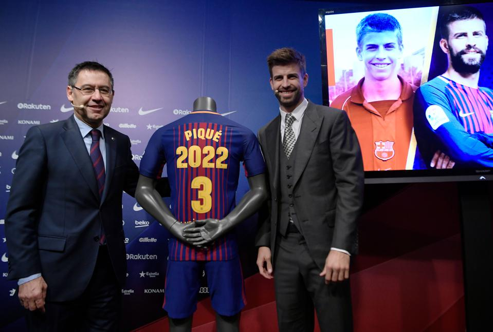 Gerard Pique has slammed Josep Bartomeu and the way FC Barcelona is run.