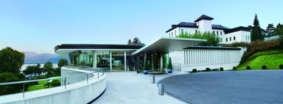 The Clinique La Prairie facility