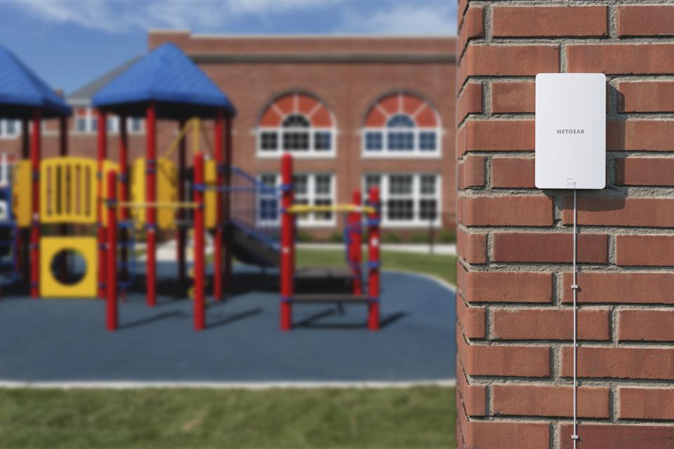 Playground with a Netgear WAX610Y wireless access point