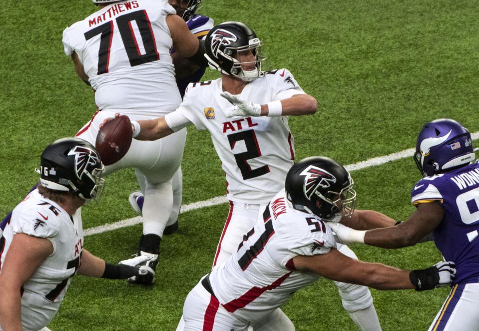 Futures On The Line For Atlanta Falcons' Matt Ryan And Julio Jones