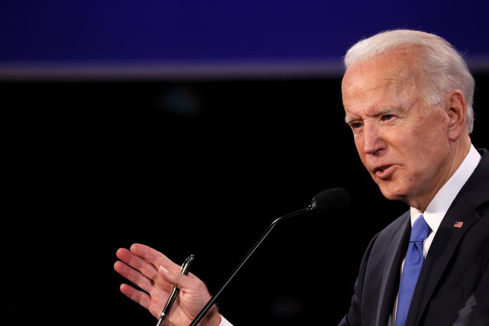 Donald Trump And Joe Biden Participate In Final Debate Before Presidential Election
