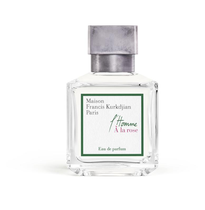 L'Homme À la rose is a fresh, radiant, rose scented fragrance for men.