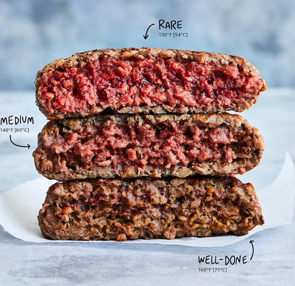 Impossible Burgers contain heme, a genetically modified organism  that makes Impossible burgers ″bleed″ and taste like real meat.