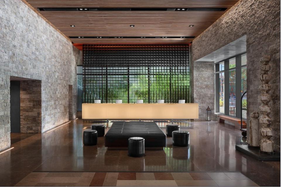 EAST Miami's lobby