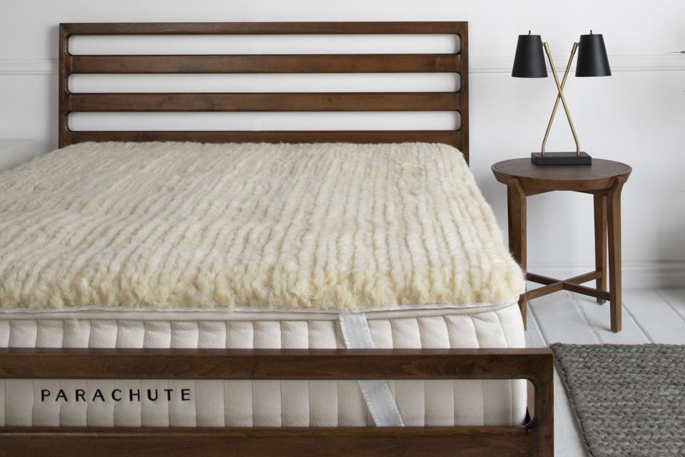 Parachute Home Wool Mattress Topper, best mattress toppers