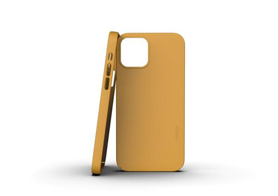 Nudient - Thin iPhone 12 Case V3 - Saffron Yellow